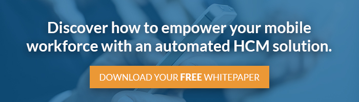 Discover how to empower your mobile workforce with an automated HCM solution.