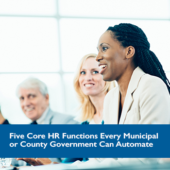 5 Core HR Functions for Goverment